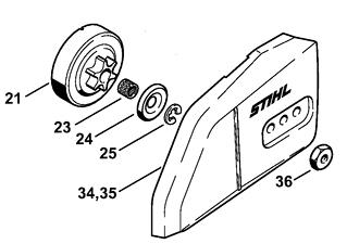 Частые неисправности бензопилы Stihl MS-180