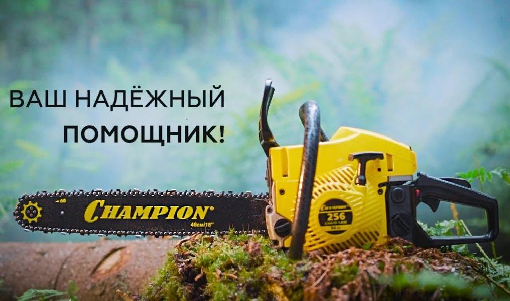 Обзор бензопил Чемпион (Champion).