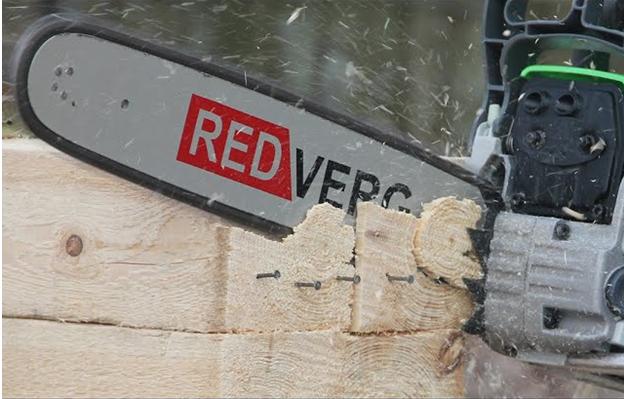 Бензопилы RedVerg (Редверг), преимущества и недостатки.