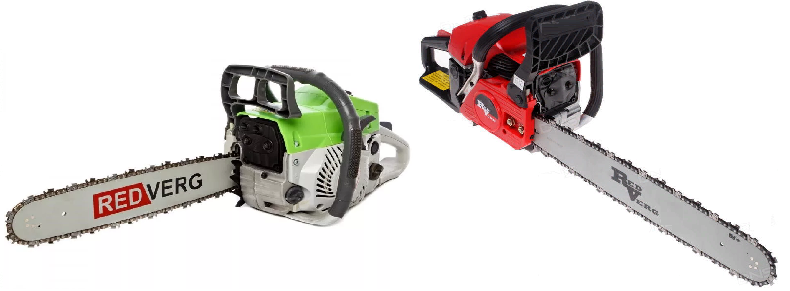 Бензопилы RedVerg RD-GC50 16 и RD-GC50 18 мощные и универсальные.