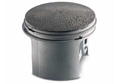 """Стирание поверхности поршня (""""матовый эффект) со стороны впуска (воздушного фильтра) Отсутствие воздушного фильтра (повреждения поверхности фильтрующего элемента) Использование насадки для бензопилы (""""болгарка"""" - попадание мелкой металлической пыли в двигатель)"""