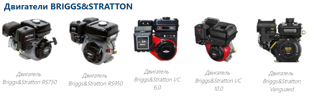 двигатели Briggs&Stratton (США)