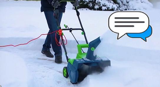 отзывы электрических снегоуборщиков